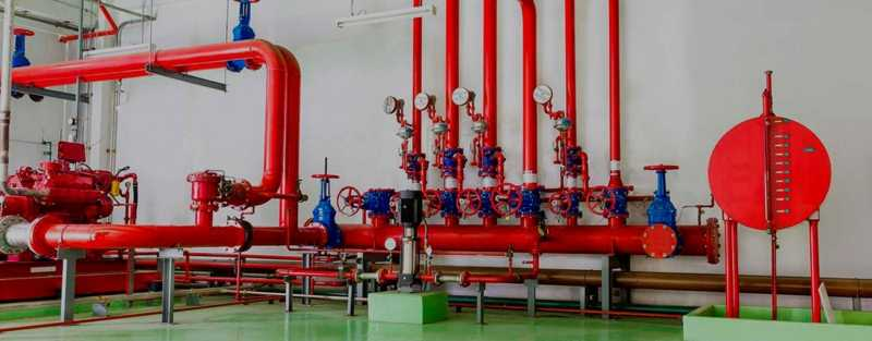 Монтаж пожарного водопровода