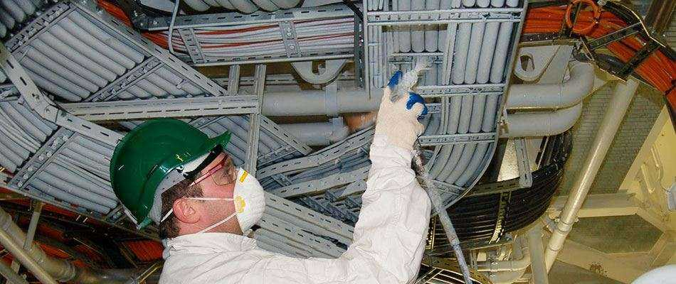 Огнезащитная обработка кабелей