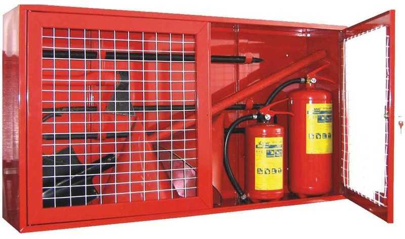 Расчет категории пожарных щитов